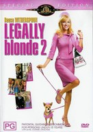 Legally Blonde 2: Red, White & Blonde - Australian Movie Cover (xs thumbnail)