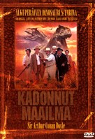 The Lost World - Finnish DVD cover (xs thumbnail)