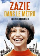 Zazie dans le métro - French DVD cover (xs thumbnail)