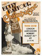 Champagne - British Movie Poster (xs thumbnail)