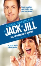 Jack and Jill - Italian Movie Poster (xs thumbnail)