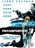 Transporter 3 - British DVD cover (xs thumbnail)