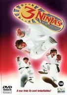 3 Ninjas Knuckle Up - Belgian DVD cover (xs thumbnail)