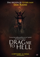 Drag Me to Hell - Italian Movie Poster (xs thumbnail)