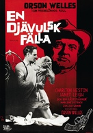 Touch of Evil - Swedish Movie Poster (xs thumbnail)