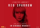 Red Sparrow - Australian Movie Poster (xs thumbnail)