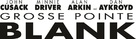 Grosse Pointe Blank - Logo (xs thumbnail)