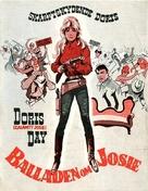 The Ballad of Josie - Danish Movie Poster (xs thumbnail)