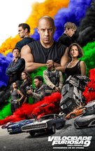 Fast & Furious 9 - Portuguese Movie Poster (xs thumbnail)