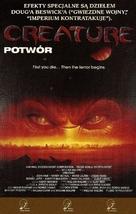 Creature - Polish VHS cover (xs thumbnail)