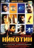 Nicotina - Russian DVD cover (xs thumbnail)
