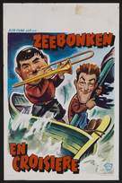 Saps at Sea - Belgian Movie Poster (xs thumbnail)