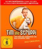 Tintin et le mystère de la toison d'or - German Blu-Ray cover (xs thumbnail)