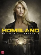 """Homeland"" - Dutch DVD movie cover (xs thumbnail)"