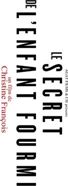 Le secret de l'enfant-fourmi - French Logo (xs thumbnail)