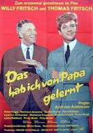 Das hab ich von Papa gelernt - German Movie Poster (xs thumbnail)