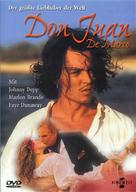 Don Juan DeMarco - German DVD cover (xs thumbnail)