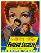 The Secret Fury - Belgian Movie Poster (xs thumbnail)