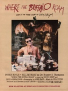 Where the Buffalo Roam - Movie Poster (xs thumbnail)