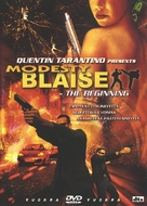 My Name Is Modesty - Finnish DVD movie cover (xs thumbnail)