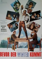 Before Winter Comes - German Movie Poster (xs thumbnail)