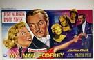My Man Godfrey - Belgian Movie Poster (xs thumbnail)
