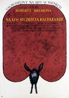 Au hasard Balthazar - Polish Movie Poster (xs thumbnail)