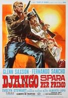Django spara per primo - Italian Movie Poster (xs thumbnail)