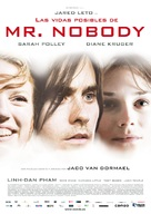 Mr. Nobody - Spanish Movie Poster (xs thumbnail)