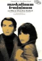 Masculin, féminin: 15 faits précis - Swedish Movie Poster (xs thumbnail)