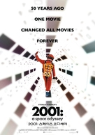 2001: A Space Odyssey - South Korean Movie Poster (xs thumbnail)