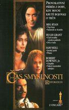 Restoration - Czech VHS movie cover (xs thumbnail)