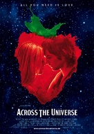 Across the Universe - German Movie Poster (xs thumbnail)