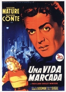 Cry of the City - Spanish Theatrical movie poster (xs thumbnail)
