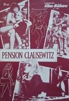 Pension Clausewitz - German poster (xs thumbnail)
