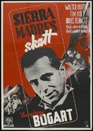 The Treasure of the Sierra Madre - Swedish Movie Poster (xs thumbnail)