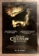 The Texas Chainsaw Massacre - Swedish Movie Poster (xs thumbnail)