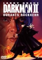 Darkman II: The Return of Durant - German DVD cover (xs thumbnail)
