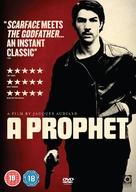 Un prophète - British DVD movie cover (xs thumbnail)