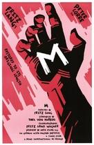 M - Movie Poster (xs thumbnail)