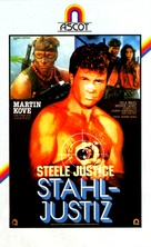 Steele Justice - German Movie Cover (xs thumbnail)