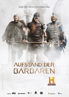 """Barbarians Rising"" - German Movie Poster (xs thumbnail)"