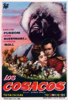 I cosacchi - Spanish Movie Poster (xs thumbnail)