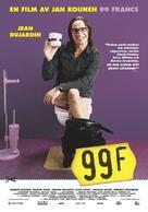 99 francs - Swedish Movie Poster (xs thumbnail)