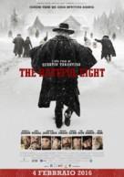The Hateful Eight - Italian Movie Poster (xs thumbnail)