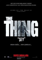 The Thing - Turkish Movie Poster (xs thumbnail)