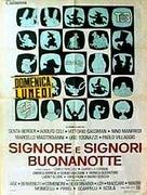 Signore e signori, buonanotte - Italian Movie Poster (xs thumbnail)