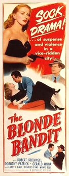 The Blonde Bandit - Movie Poster (xs thumbnail)