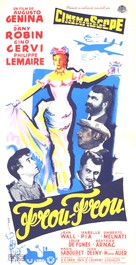 Frou-Frou - French Movie Poster (xs thumbnail)