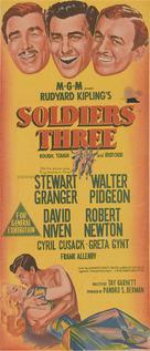 Soldiers Three - Australian Movie Poster (xs thumbnail)